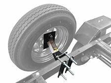 Boat Trailer Spare Tire Mount Carrier Wheel Cargo Holder