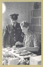 Nostalgia Postcard WW2 1942 Aircraft Factory Reproduction Card NS40