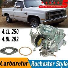 Upgraged Rochester Style 1 Barrel Carburetor For Chevy GMC V6 Eingine 250 & 292