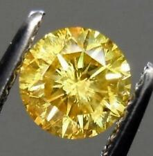 Huge Dazzling Canary Yellow Sapphire 10 Carats 12 mm Loose Gemstone