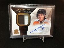2010-11 10-11 The Cup SIGNATURE PATCHES 39/75 James Van RIEMSDYK - Flyers