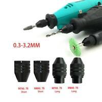 Multi Keyless Mini Electric Motor Drills Chuck Grinder Shaft Rotary Power Tools