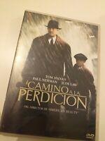 Dvd  CAMINO A LA PERDICION  CON  T HANKS