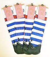 4 Pairs Of Gymnastics Beam Queen Socks- Feat By Aly Raisman Women's 6-9