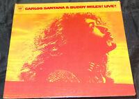 Carlos Santana & Buddy Miles Live! Sealed Vinyl Record Lp USA 1972 Orig Hype Sti
