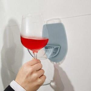 Watt Plastic Wine Glass Holder For The Bath Shower Holder Wine R4S0 Red T5Z8
