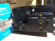 Chinon 3000GL Cine Projector VINTAGE Tested Works Needs Lamp