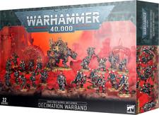 Warhammer 40K Chaos Space Marines Battleforce Decimation Warband NEW