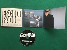 1 CD Musica ADRIANO CELENTANO - ESCO DI RADO E PARLO MENO Clan (2000) Made Italy