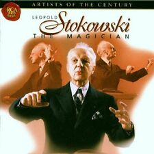 Leopold Stokowski - The Magician (New 2 CD Set 1999) Bach Beethoven Liszt etc
