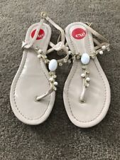 Exe Womens Embellished Sandals