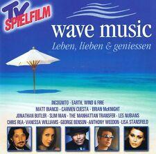 Leben, Lieben & Geniessen WAVE MUSIC Chill Chillout Lounge Smooth Jazz 2CD
