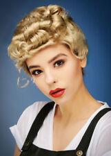 1940's Blonde Vintage Wig - 40s Curls Smiffys 1940s Fancy Dress Ladies