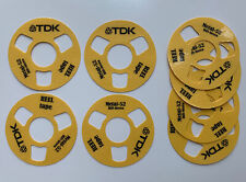 2x Reel To Reel Cassette Tape Ghettoblaster Boombox Selfmade (8 Reels) TDK