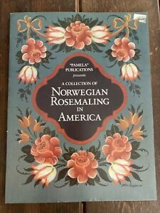 Collection Norwegian Rosemaling in America Paint Pattern Book - Unused