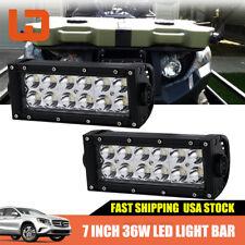 DOT Headlights Led Light Bar Spot Beam 7 8 Inch Backup Light ATV Quad 4 Wheeler