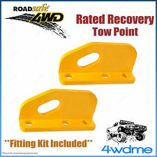 Toyota Landcruiser 200 Series Roadsafe Rated Recovery Heavy Duty Tow Points Kit