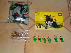 LEGO 6066 Robin des Bois Passage secret  vintage  complet A 100% + Notice