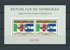 LATIN AMERICA - HONDURAS - 1968 MI 9 BLOC -  TIMBRES NEUFS** MNH LUXE