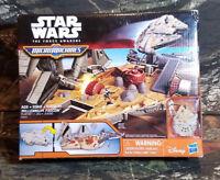 Star Wars The Force Awakens Micro Machines Millennium Falcon Playset C6