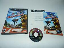 Mario Superstar Baseball Nintendo Gamecube Game Complete CIB Tested