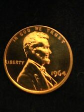 1964 1C DC (Proof) Lincoln Cent Us Collectible Coin