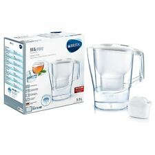 BRITA Aluna XL MAXTRA+ Plus 3.5L Water Filter Counter Top Jug + Cartridge, White