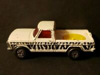 Vintage 1977 Matchbox Rolamatics No.57 Wild Life Truck White Missing Cover!