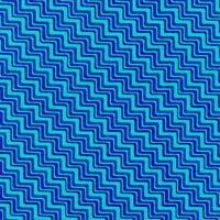Graphix Chevron Turquoise Blue Paintbrush Studio 100% Cotton fabric by the yard