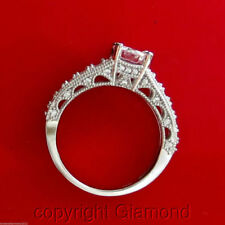 Anillos de joyería con diamantes solitarios de compromiso FL