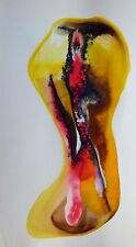 METADRAWING 57 original ART painting PERSONNAGE abstract LOVE erotica NUDE