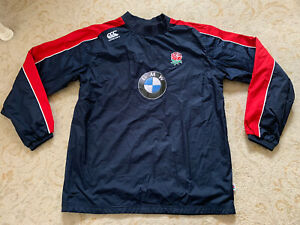 England Rugby U20 Player Issue Contact Waterproof Training Top Size Medium