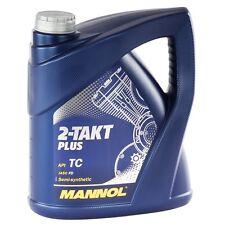 MANNOL 2-Takt Plus Motoröl 4 Liter Zweitakt Öl teilsynthetisch Motorrad Roller