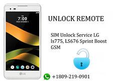 SIM Unlock Service LG ls775, LS676 Sprint Boost GSM