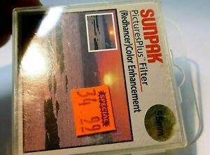 Sunpak 55mm RedHancer Lens Filter Color Enhancer