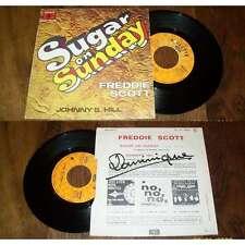 FREDDIE SCOTT - Sugar On Sunday Rare French EP Soul Funk 67 Roulette
