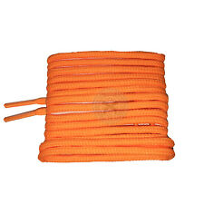 Mr Lacy Roundies - Bright Orange Round Shoelaces - 130cm Length 4mm width