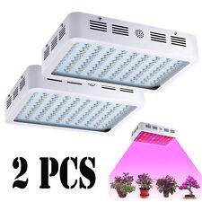 2x 1000W Full Spectrum Hydro LED Grow Light Lamp Panel Medical Plants Veg Bloom