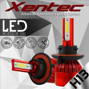 H13 9008 Hi/Lo 6000K White 488W 48800LM DualSided LED Conversion Headlight KIT