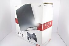 NEW PlayStation 3 PS3 Console Charcoal Black 120GB Japan *COLLECTORS ITEM*