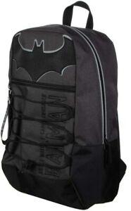 Batman Wayne Enterprises DC Comics Bungee Backpack Book Bag