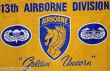 USA 13th AIRBORNE AIR FORCE FLAG 5 X 3 MILITARY