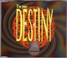 SNAZZY - I'm your destiny CDM 5TR 1997 Progressive TRANCE / EURODANCE RARE!