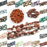 "Freeform Natural Stone gemstone Chips Beads For Jewelry Making 15.5"" Bulk in Lot"