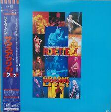 ROXETTE Laserdisc Crash Boom Live! Johannesburg Concert Japan LD OBI TOLW-3239