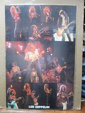 Vintage Led Zeppelin Picture Compilation Poster 12462