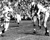 CFL 1960's Toronto Argonauts Jim Rountree vs Alouettes 8 X 10 Photo Picture
