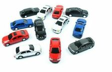 12 New HO Scale Model Automobiles cars Building Train Scenery Autos Sedans 1:87