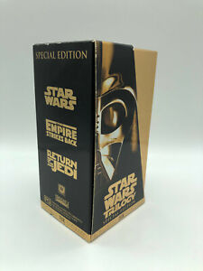 STAR WARS TRILOGY - Star Wars, Empire Strikes Back, Return of the Jedi - VHS