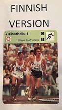 STEVE PREFONTAINE 1978 FINNISH Sportscaster card From Finland